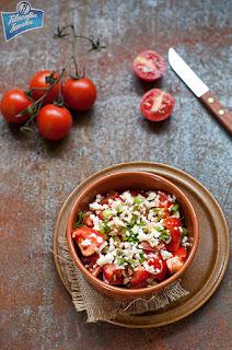 Arabska sałatka z pomidorów