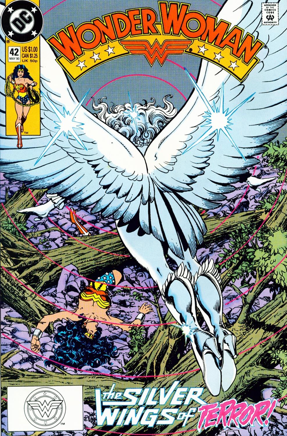 Read online Wonder Woman (1987) comic -  Issue #42 - 2