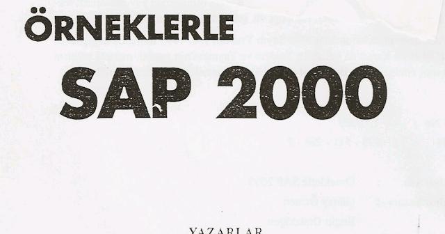 sap2000 programı konu anlatımı