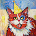 CAT #30 - Tommy Celebrates