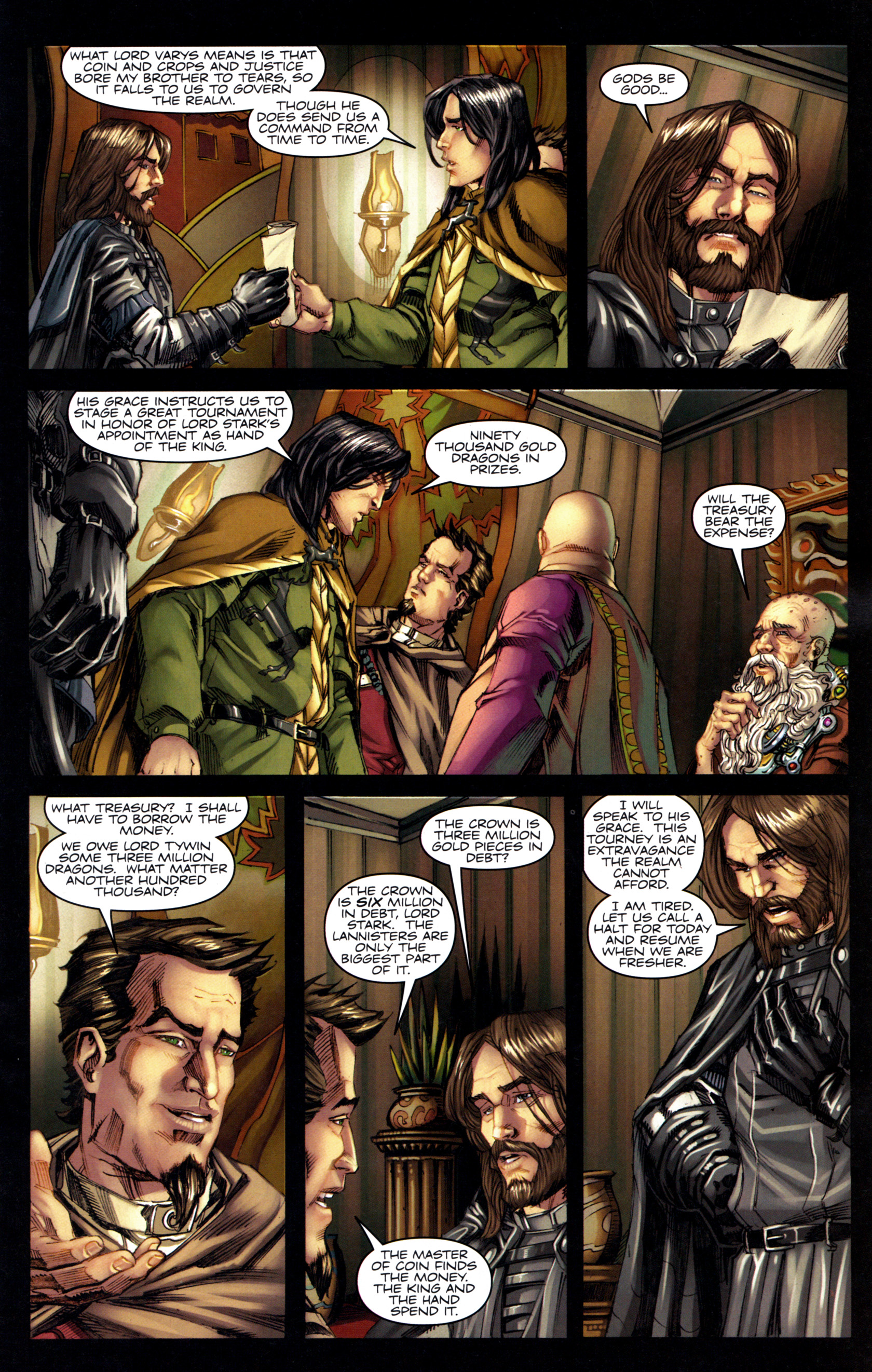 Read online A Game Of Thrones comic -  Issue #6 - 15