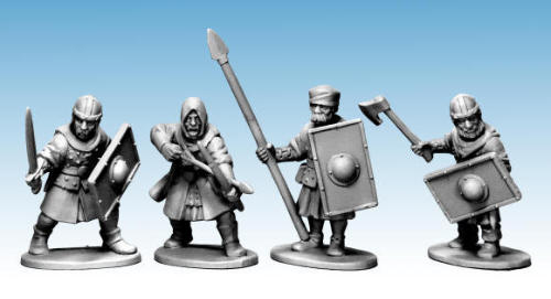 Breaking! Northstar Miniatures: New Plastic Fantasy Oathmark Human Soldiers!