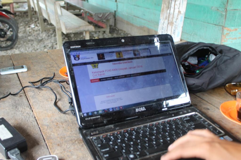 Weblog KKN Sebagai Media Publikasi Kegiatan dan Tempat Promosi Gampong