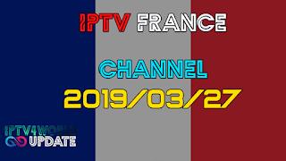 IPTV French M3U Gratuit Iptv4world 27/03/2019