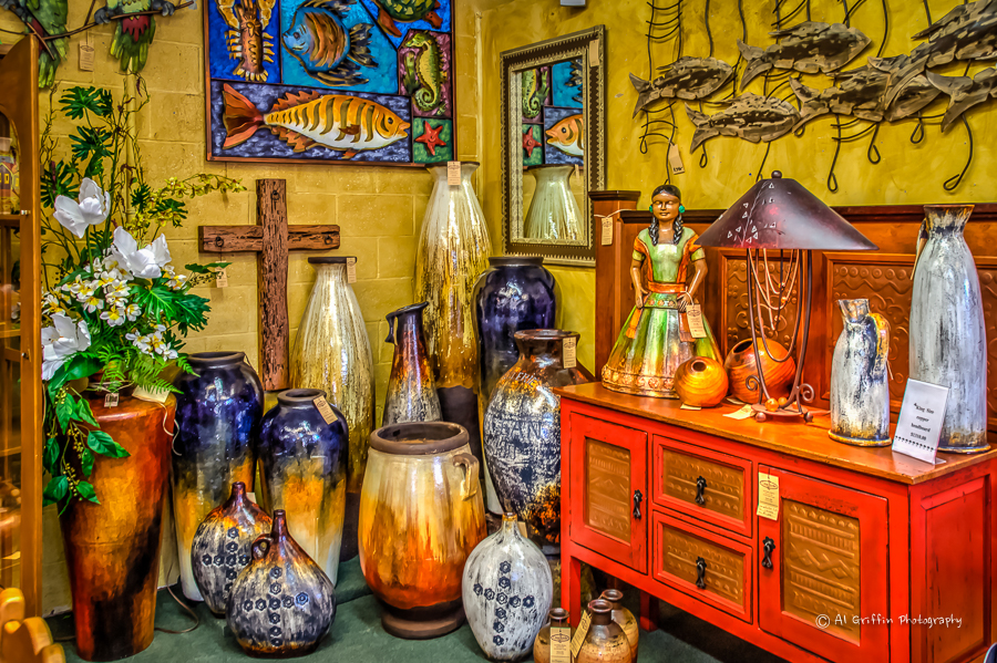 Unlike Some Places Where Shoppers May See Mexican Decor The Color Palette At Casa Bonita Is Muted Onyx Lamps A Very Popular Item Glow With Soft Light