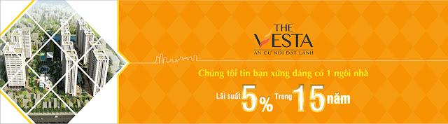Dự án The Vesta ✧ Siêu sao phân khúc nhà ở xã hội giá rẻ