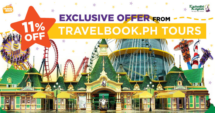 Enchanted Kingdom (EK) tickets now available for 11% off at TravelBook.ph