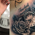 Time tattoo designs for men and women