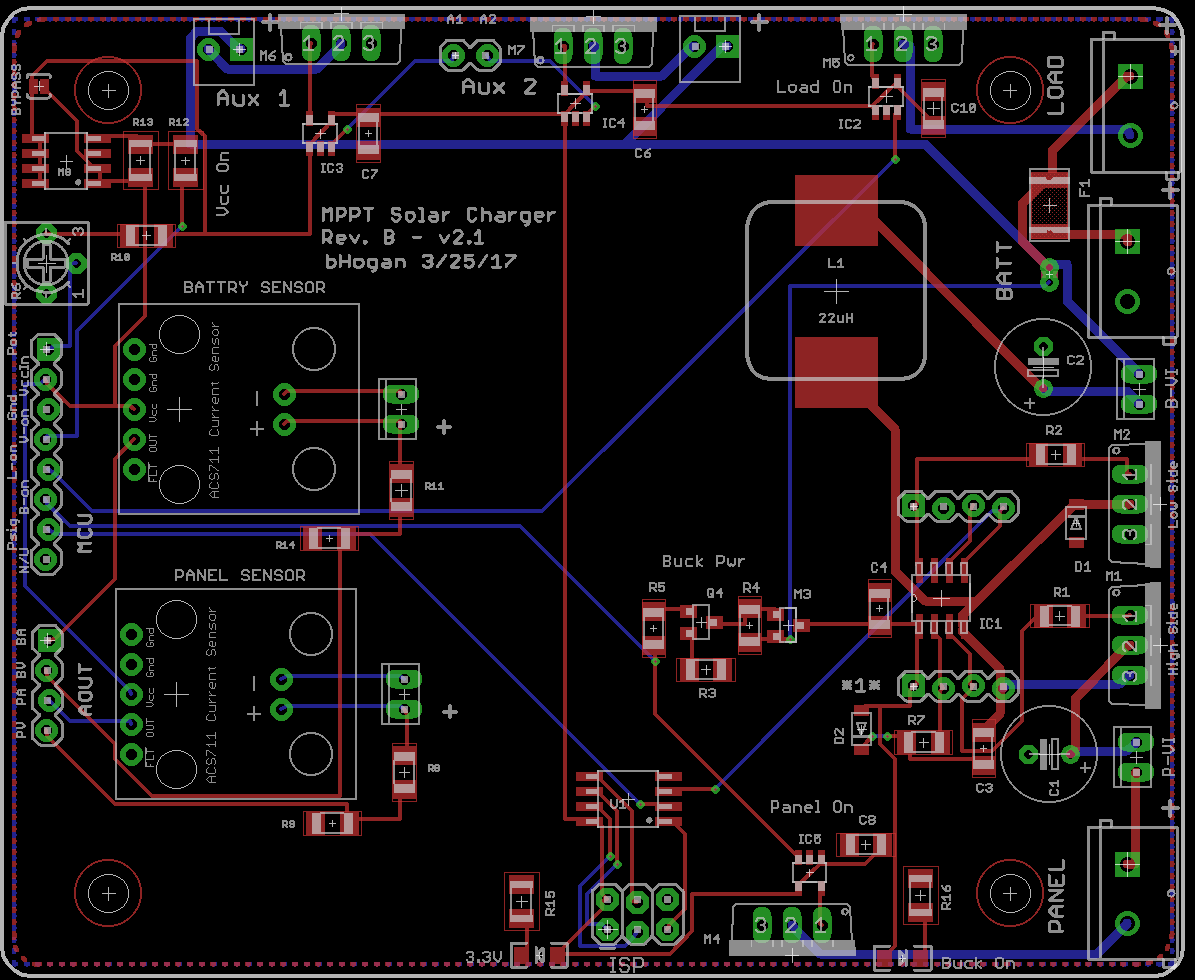Arduino Collection Geiger Counter With Usb Interface Schematics Having Said That Here Is The Schematic And Board View For Rev B Of Mppt Pcb