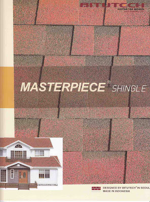 Atap Bitutech Shingle Masterpiece
