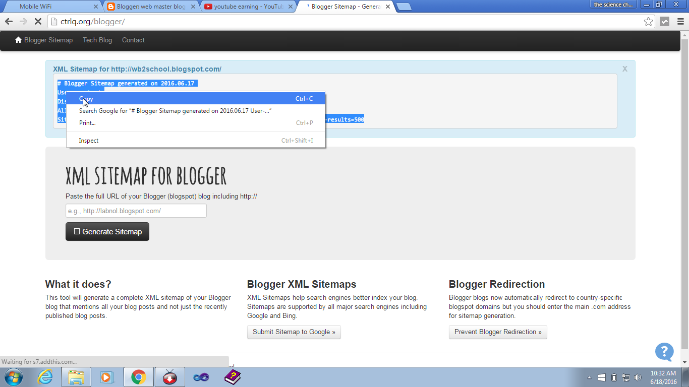 intra web blog
