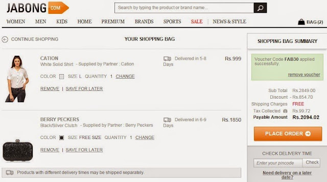 My Shopping Experience Using VoucherCloud India