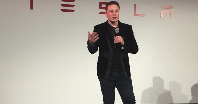 Tesla announces five-for-one stock split.