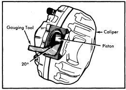 repair-manuals: Audi 100LS 1977 Brake Repair Guide