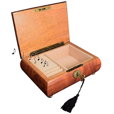 Shop Nile Corp Wholesale Wooden Musical Jewelry Box with Lock