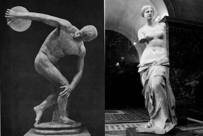 Метатель Диска и Венера Милосская
