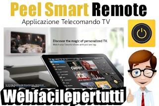 Peel Smart Remote | Applicazione Telecomando Per Controllare Tv , Lettore DVD o Blu-ray Direttamente Dal Tuo Dispositivo