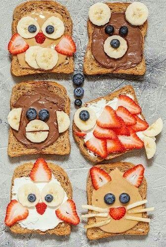 Divertidos sandwiches para una celebración infantil