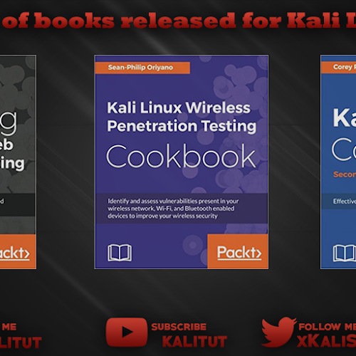 Kali Linux Books 2018 Kalitut Tutorial