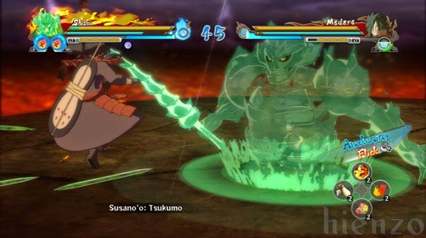 Uchiha Shisui Mode Susano'o vs Madara