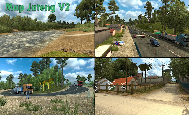 Screenshot Map Jateng v2 ets2