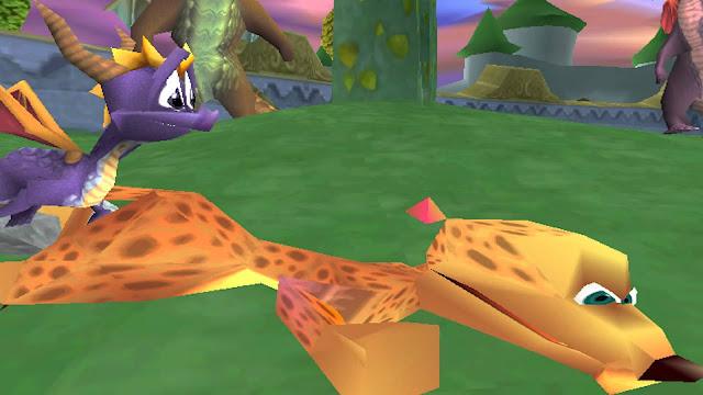 Spyro: El año del dragón - PSX - Captura 1