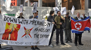 Anglo peoples korea songun uk kfa picket south korean for Puppet consul