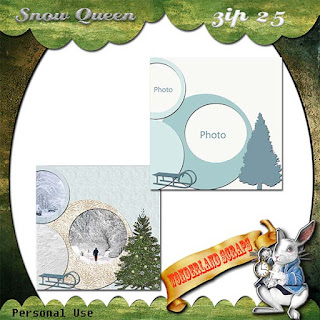 Sunday news - last Snow Queen freebie & news of Dad