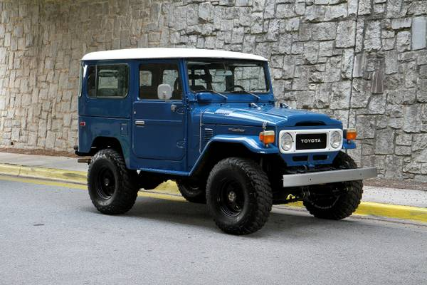 For Sale Restored FJ40 Land Cruiser