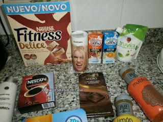 Caja Disfrutabox Octubre: Nescafé, Fitness, Solan de Cabras, Truvia