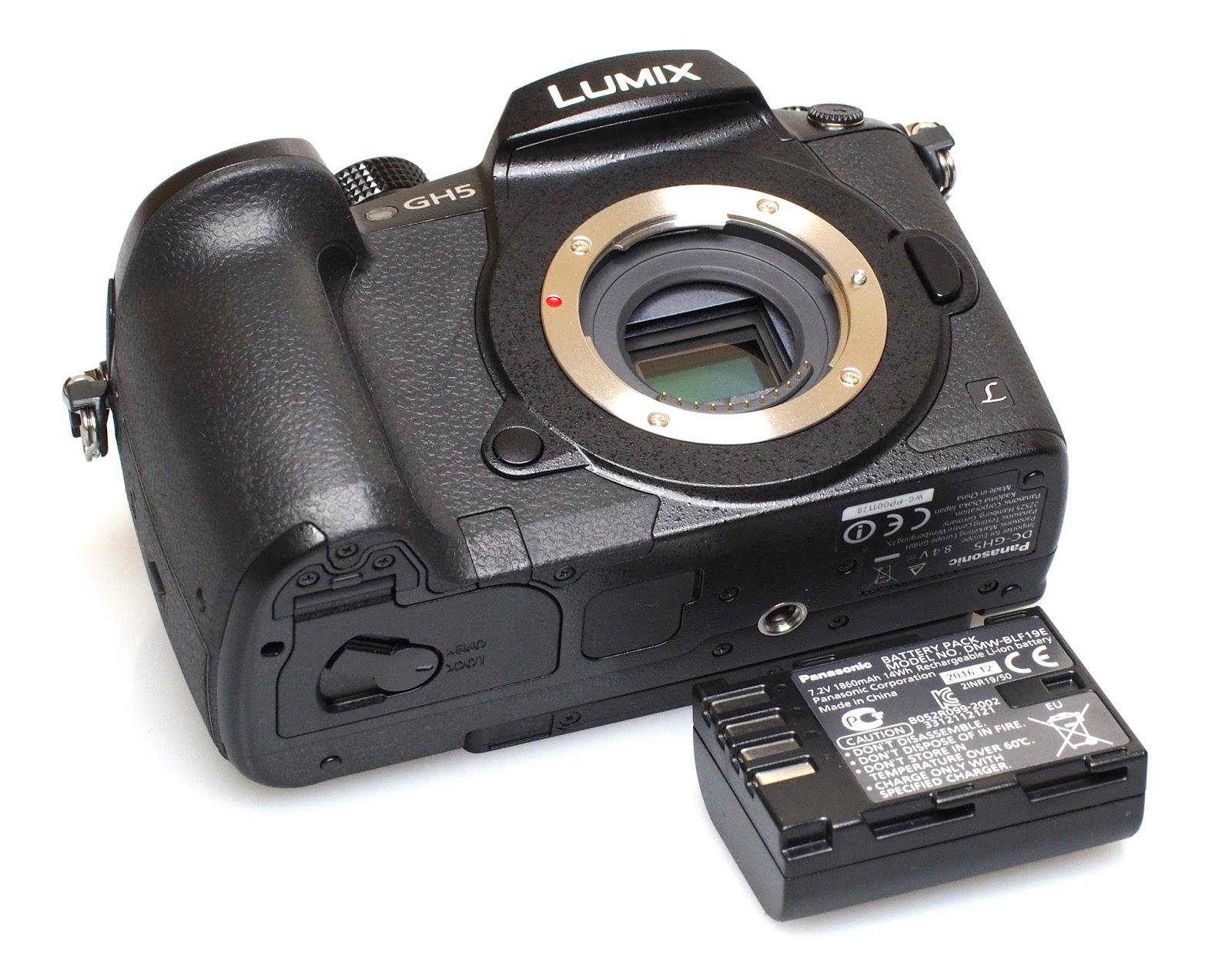 Аккумулятор Panasonic Lumix GH5