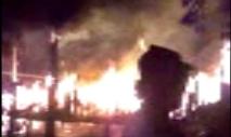 Iretama: Residência fica completamente destruída pelo fogo