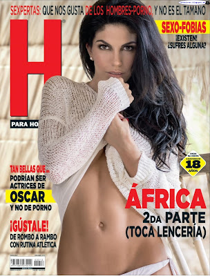 Africa Zavala (2da parta) - H para Hombres 2017 Enero (79 Fotos HQ)