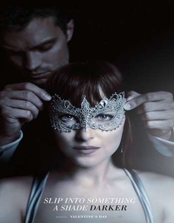 Poster Of Fifty Shades Darker 2017 English 450MB HC HDRip 720p HEVC Free Download Watch Online Downloadhub.in