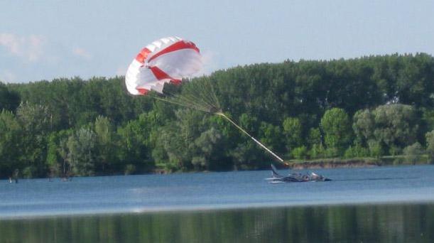 paragliding på the rockies