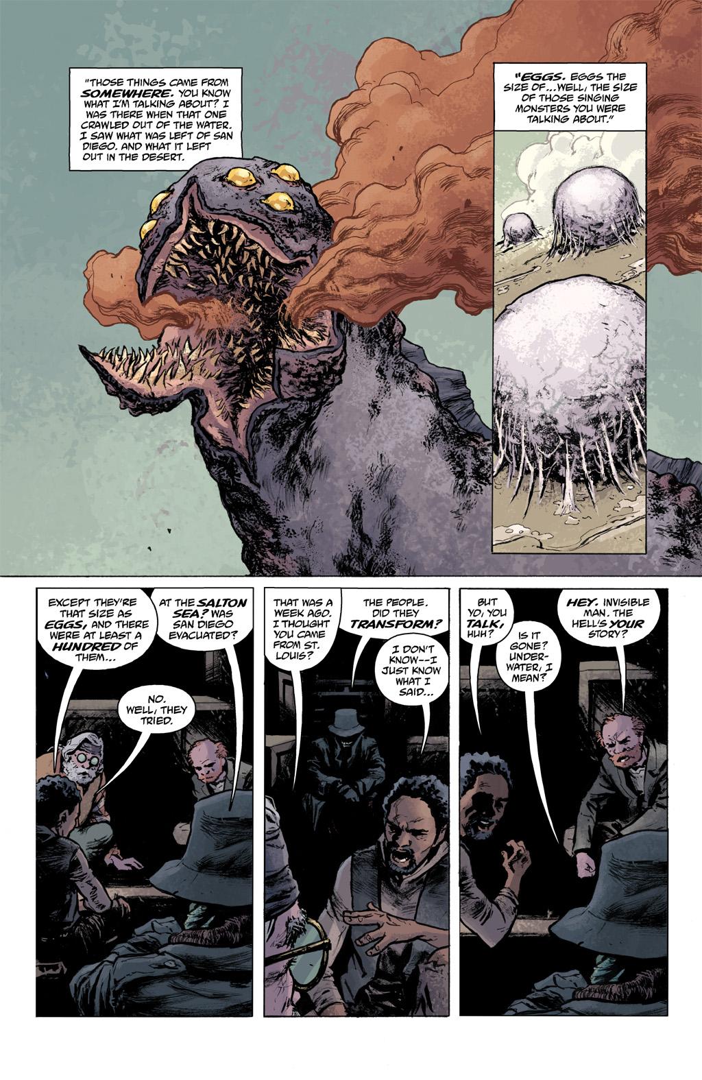Read online Abe Sapien comic -  Issue #1 - 16