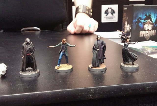Knight Models: Harry Potter Miniature Game - Painted Miniatures Previewed