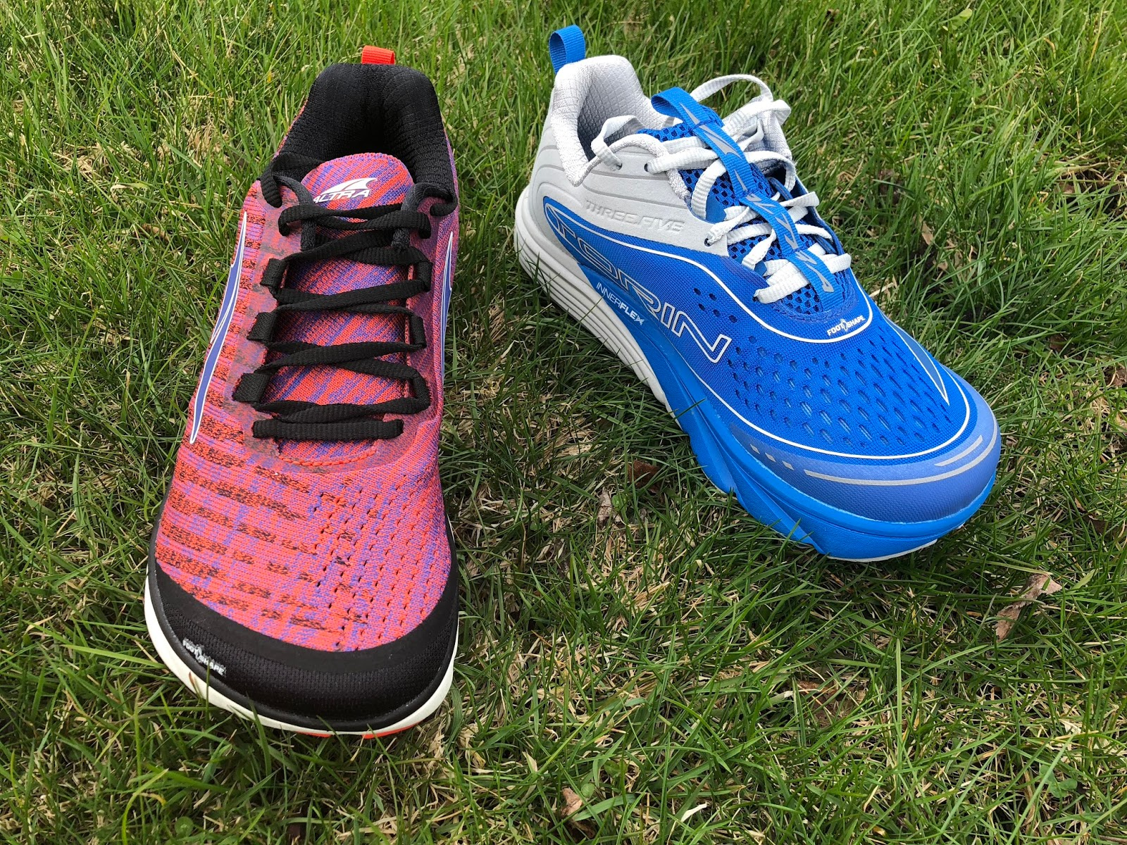 uk availability ad472 b7c01 Altra calls out the Knit as the comfort version and the Mesh as the speed  version. At least at the upper level, but read on, this is spot on accurate.