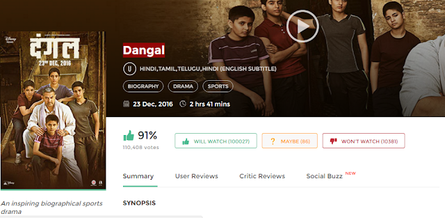 Dangal (2016) Full Hindi Movie in HD 720p avi mp4 3gp hq free