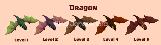 Upgrade Dragon Level 1 2 3 4 5 6 blog jonarendra