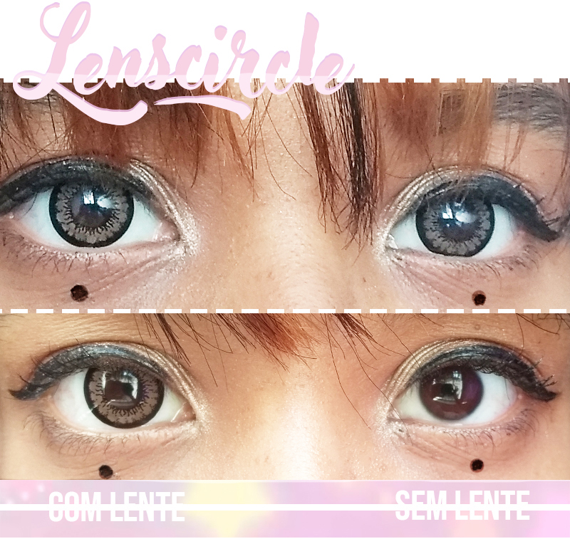 Resenha circle lens marrom