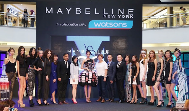 Maybelline 100 Years Anniversary, 10 Decades, 10 Iconic Looks, Maybelline New York 100 Years, Maybelline Malaysia, Stevensunny Glam Goddess