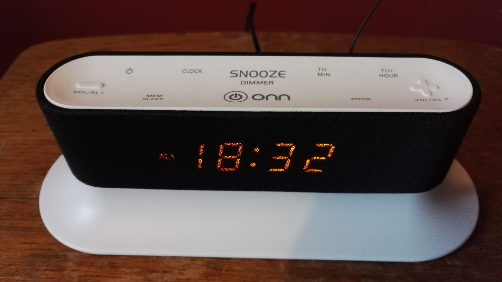 How to set up your asda onn clock radio now lets set the clock fandeluxe Gallery