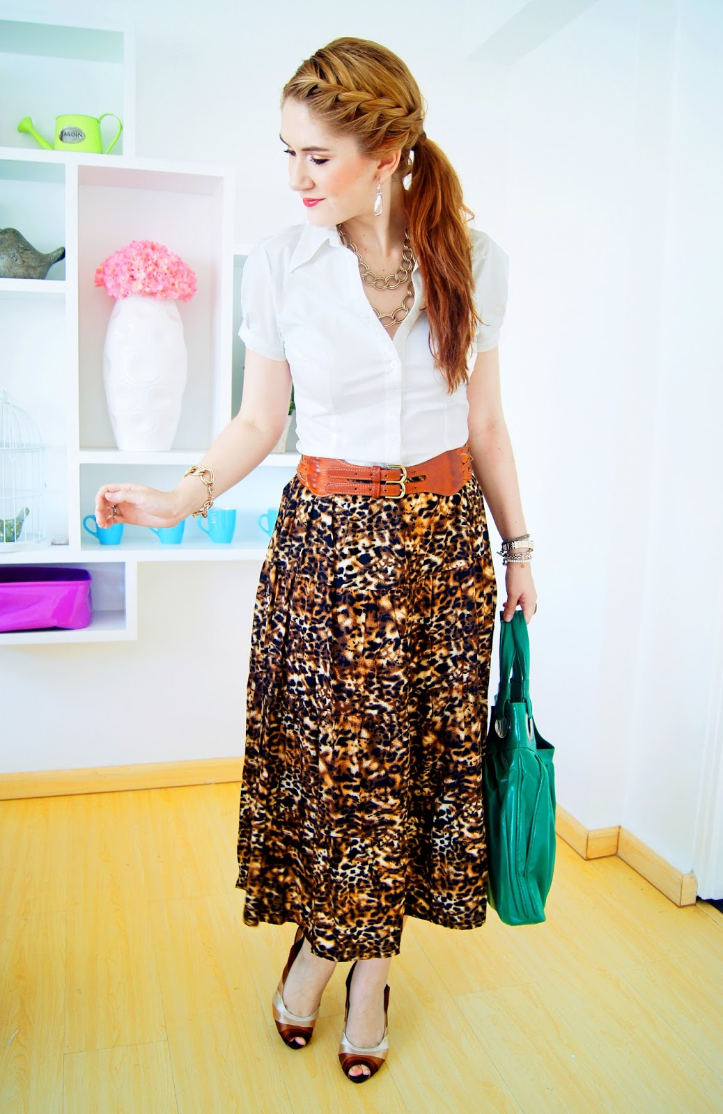 Maxi Skirt Outfit Ideas