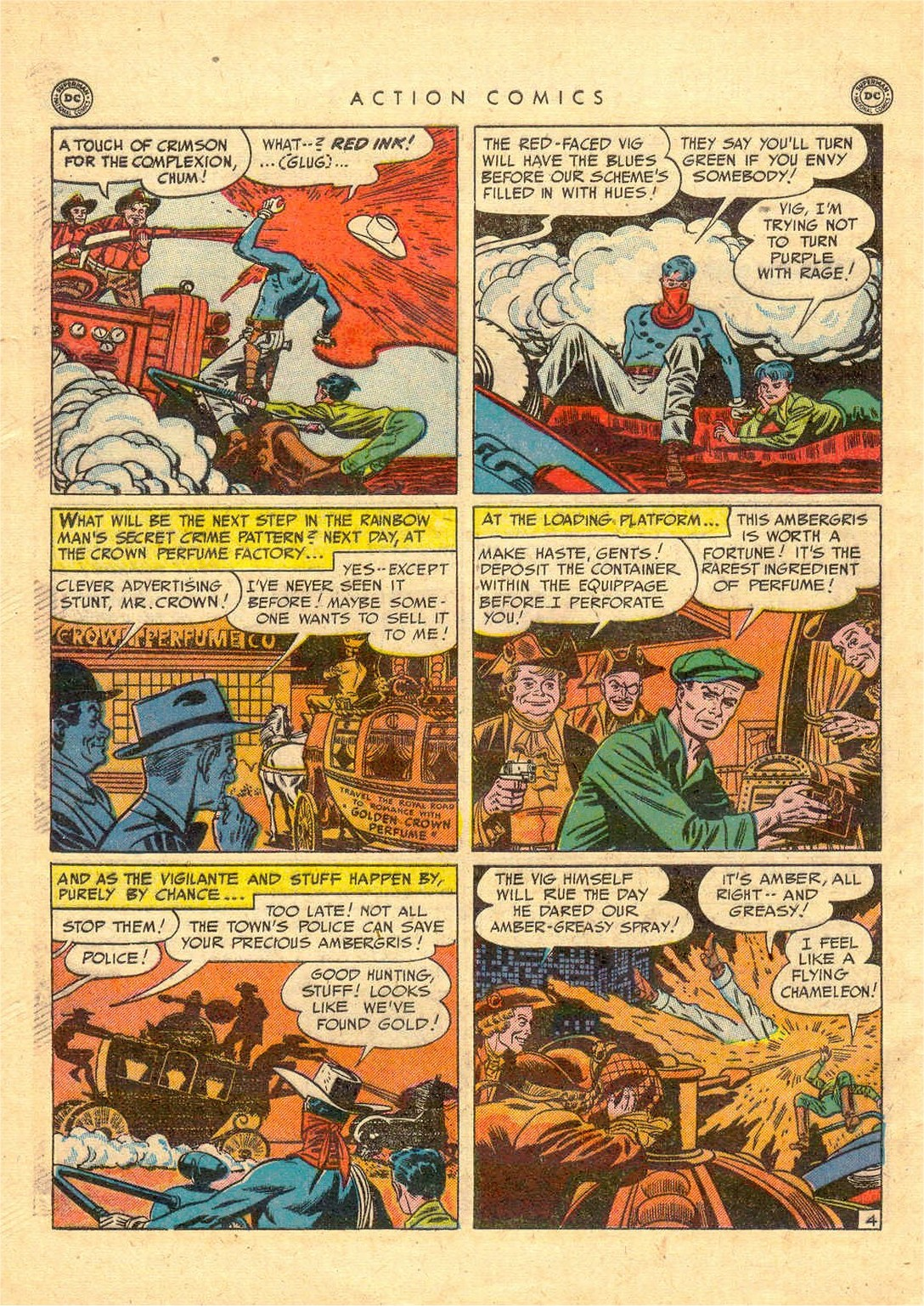 Read online Action Comics (1938) comic -  Issue #156 - 41