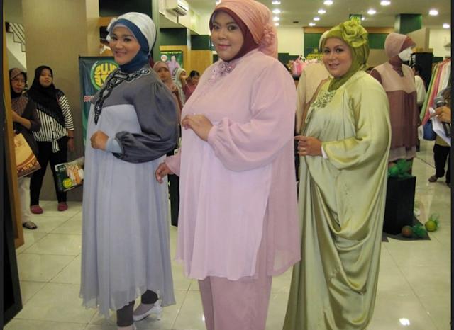 model baju Muslim buat orang gemuk pendek