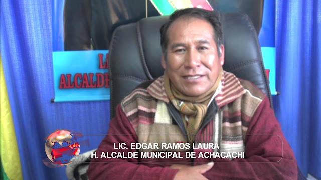 El alcalde Ramos gobierna Achacachi desde la zona rural luego de las protestas de febrero