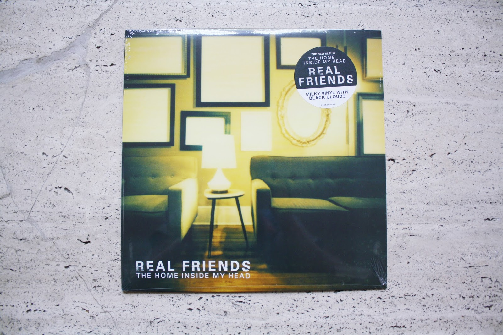 Real Friends The Home Inside My Head vinyl