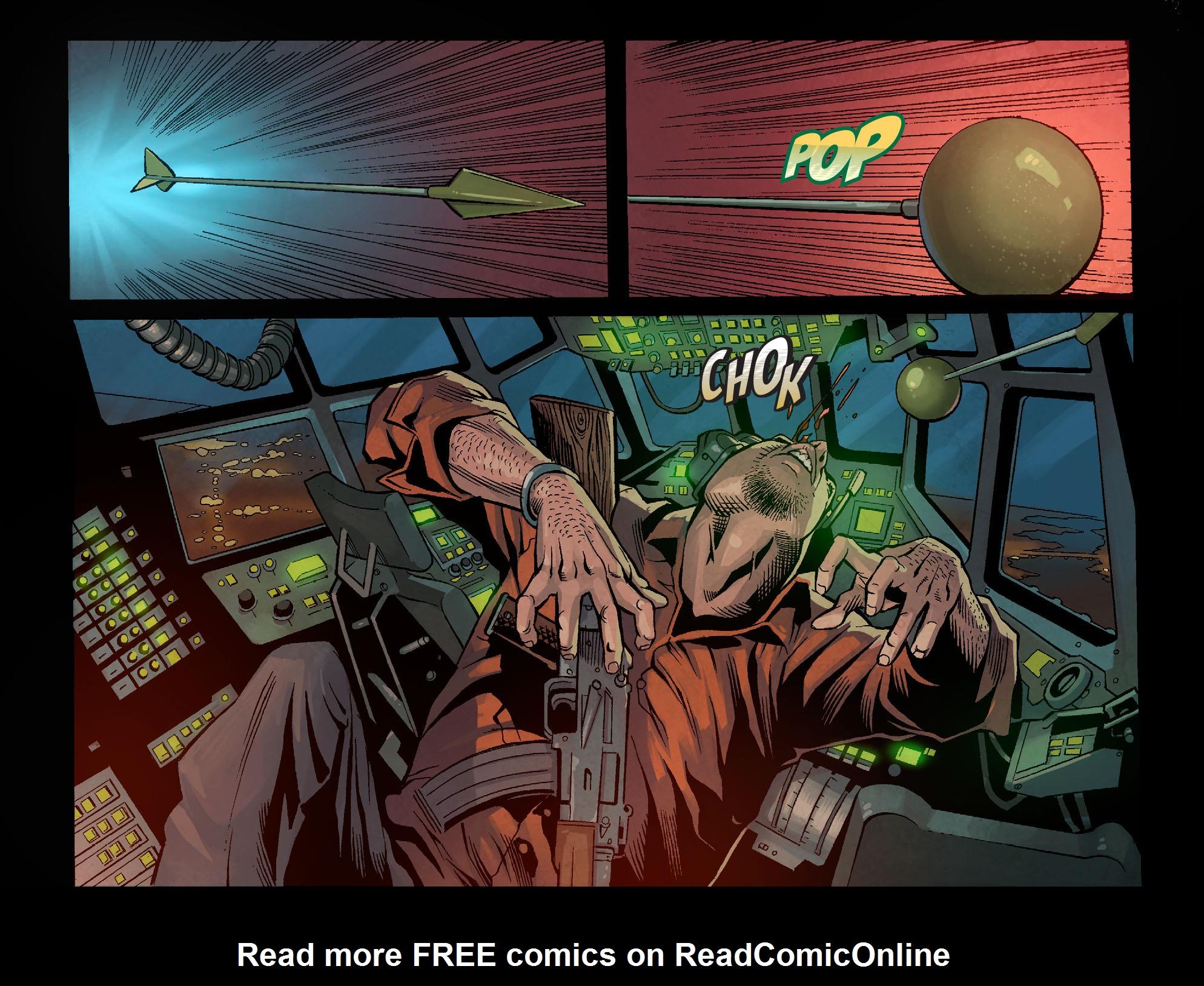 Read online Arrow: Season 2.5 [I] comic -  Issue #1 - 15