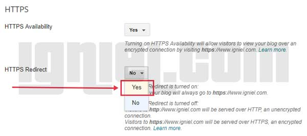 Cara Mengubah HTTP ke HTTPS di Blogger Custom Domain Sendiri